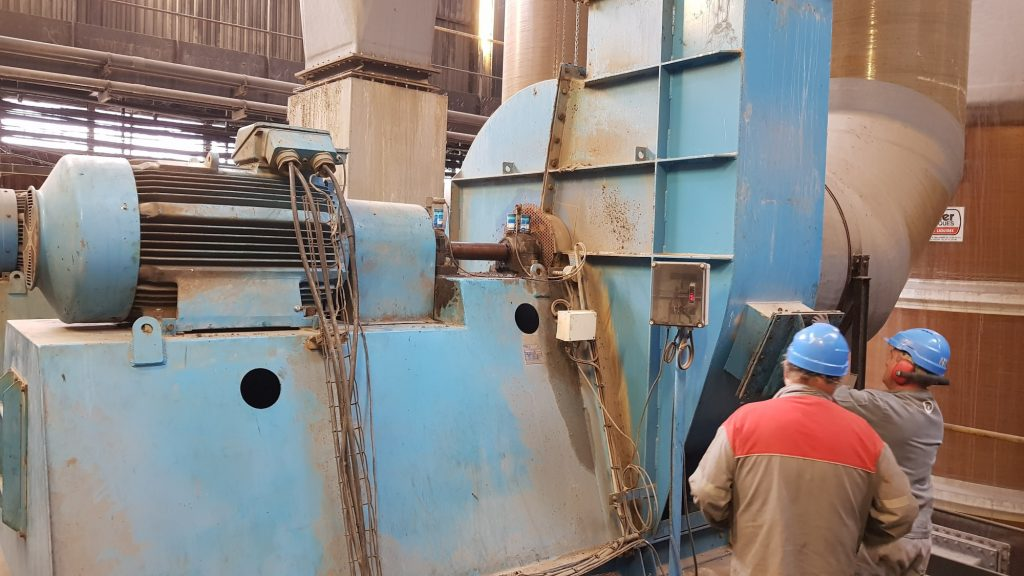 Analyse vibratoire d'une turbine pour une maintenance prédictive