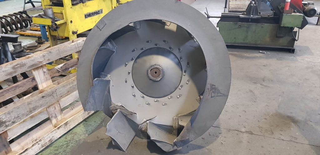 équilibrage rotation turbine