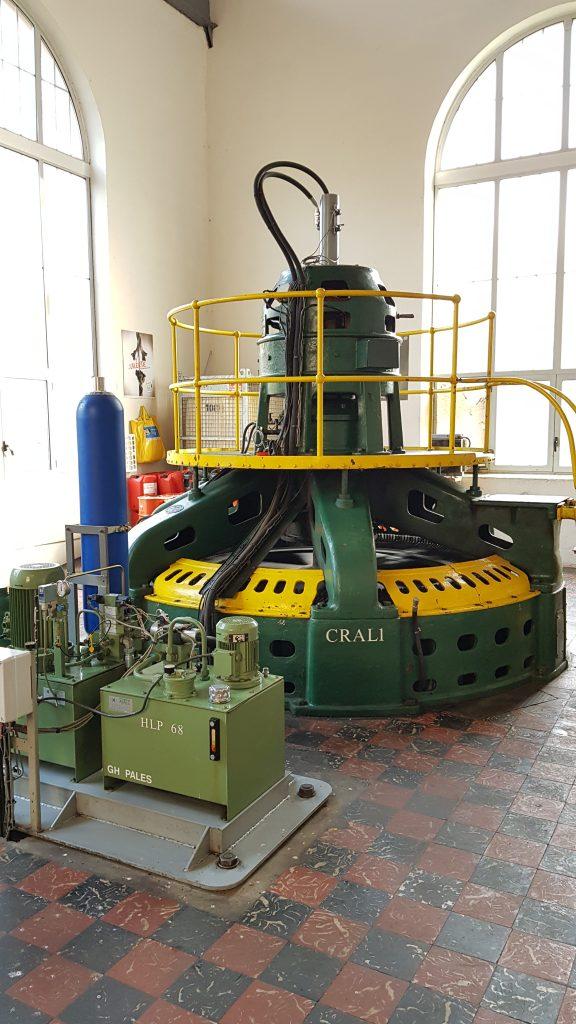 Contrôle par analyse vibratoire d'une génératrice éléctrique